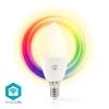 Picture of Lampadina LED smart Wi-Fi | Colore pieno e bianco caldo | E14 - RGB + LUCE CALDA - DIMM