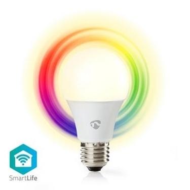 Picture of Lampadina LED smart Wi-Fi   Colore pieno e bianco caldo   E27 - RGB+LUCE CALDA - DIMM