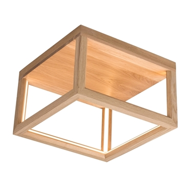 Picture of KAGO LED A SOFFITTO - quadrato - illuminazione con striscia - 35,5 x 35,5