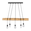 Picture of TRABO LONG - LAMPADINA - 5XE27 - Brown/Black