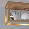 Picture of ROY BIANCO - A SOFFITTO - 3XE27 LINEARE