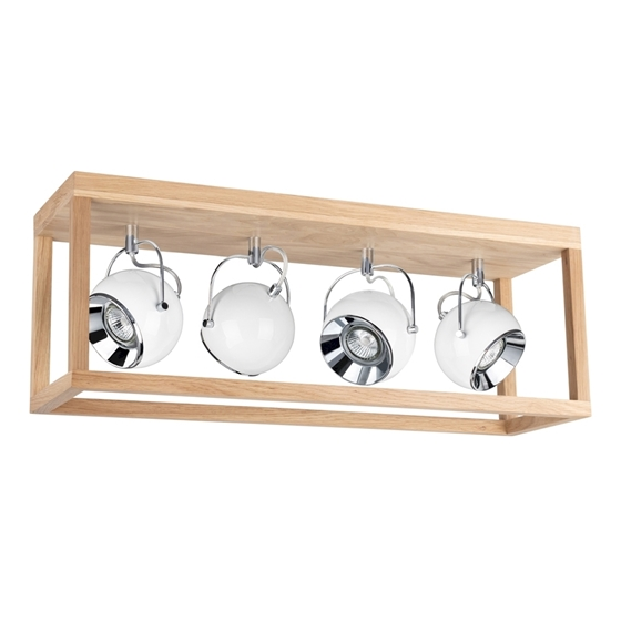 Picture of ROY BIANCO - A SOFFITTO - 4XE27 LINEARE