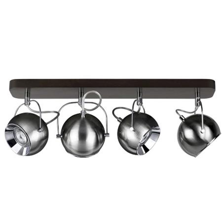 Picture for category BALL WOOD - A SOFFITTO - NOCE/CROMO - vari modelli e dimensioni