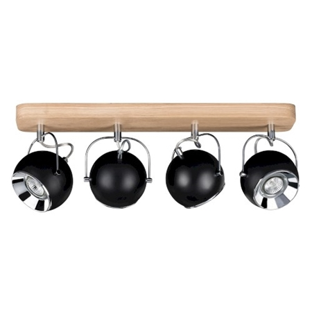 Picture for category BALL WOOD - A SOFFITTO - ROVERE/NERO - vari modelli e dimensioni
