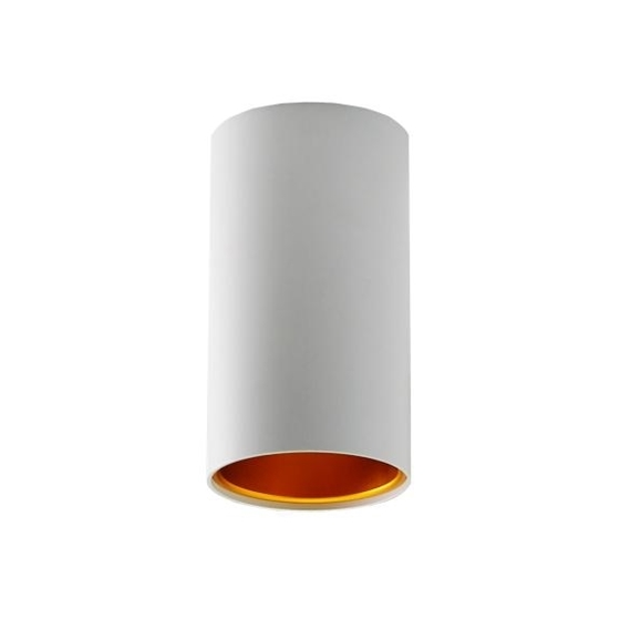 Picture of CHLOE TUBE GU10 ROUND B/G -  FARETTO NON A INCASSO DA SOFFITTO -  70X128 - IP20