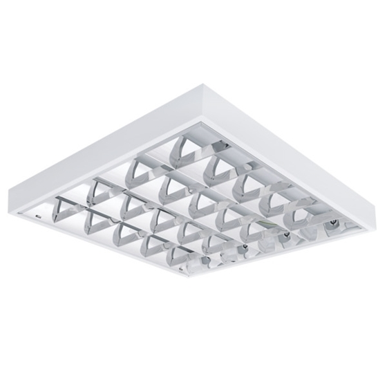 Picture of NOTUS 4LED 418 NT- PLAFONIERA DA SOFFITTO CON GRIGLIA