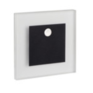 Picture of APUS LED PIR - 0,8W - NERO - SEGNAPASSO DA INTERNO CON SENSORE DI MOVIMENTO - 12DC