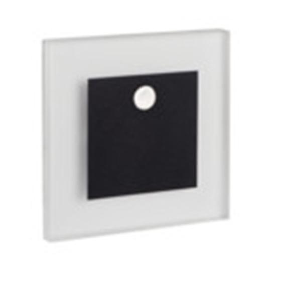 Picture of APUS LED PIR - 0,8W - NERO - SEGNAPASSO DA INTERNO CON SENSORE DI MOVIMENTO - 12DC
