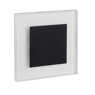 Picture of APUS LED B  - 0,8W - NERO - SEGNAPASSO DA INTERNO  - 12DC