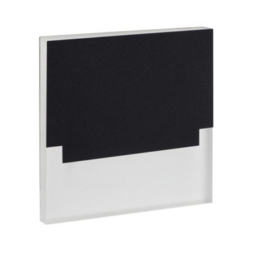 Picture of SABIK LED  0,8W - SEGNAPASSO DA INTERNO - 12DC - NERO