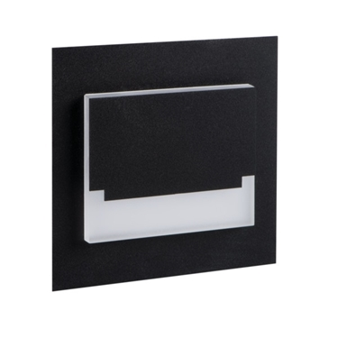 Picture of SABIK LED MINI  0,8W - SEGNAPASSO DA INTERNO - 12DC - NERO