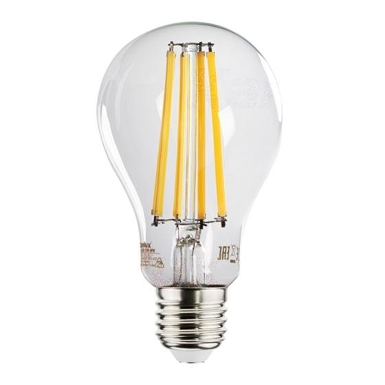 Immagine di XLED A70 15W - E27 - LAMPADA A FILAMENTO A LED CON VETRO TRASPARENTE
