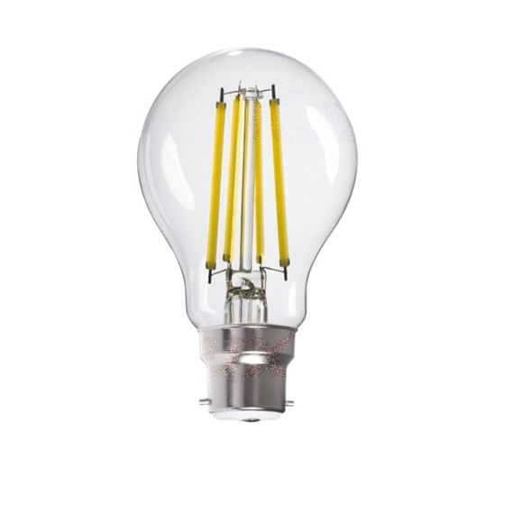 Picture of XLED LED 10W - CW - B22 - A60 - FILAMENTO