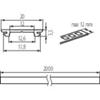 Immagine di PROFILO H - Profilo di moduli LED lineari