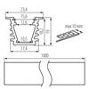 Immagine di PROFILO I - Profilo di moduli LED lineari  - GRIGIO