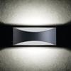 Immagine di BISO LED EL 8W - GR - APPLIQUE DA PARETE PER ESTERNO IP54