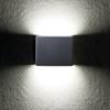 Immagine di GARTO LED EL 8W - GR  - APPLIQUE PER ESTERNO IP54