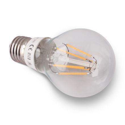 Immagine di LED Bulb A60 6W E27 230V warm white, FILAMENT LED