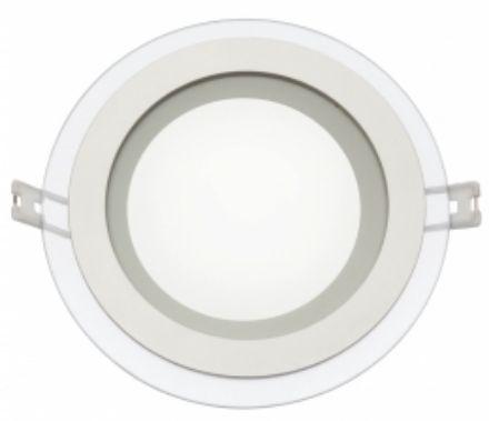Immagine di Pannello ad incasso - FIALE ECO LED ROUND 230V  IP20 12W - WW