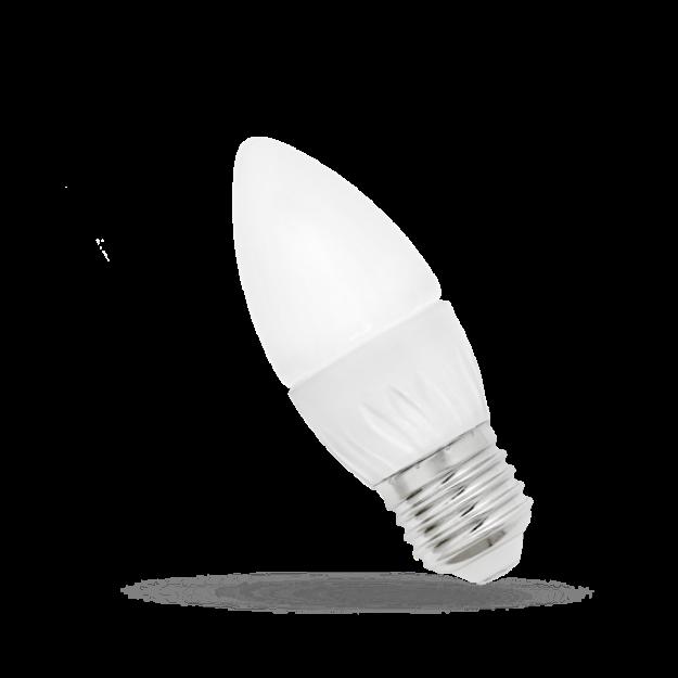 Immagine di LAMPADA CANDELA LED - E27 - 6W - WW/CW