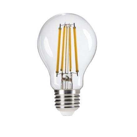 Immagine di XLED A60 8W - WW - E27 - LAMPADA A FILAMENTO A LED CON VETRO TRASPARENTE