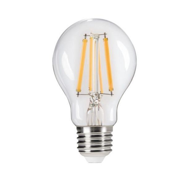 Immagine di XLED A60 7W STEM DIM  - E27 - LAMPADA A FILAMENTO A LED CON VETRO TRASPARENTE - DIMMERABILE   7%/50%/100%