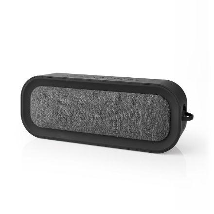 Immagine di Altoparlante Bluetooth® in Tessuto   30 W   Fino a 6 Ore di Riproduzione   Impermeabile   Antracite/Nero