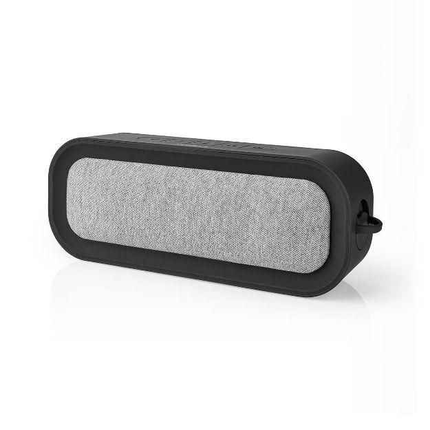 Immagine di Altoparlante Bluetooth® in Tessuto   30 W   Fino a 6 Ore di Riproduzione   Impermeabile   GRIGIO/Nero