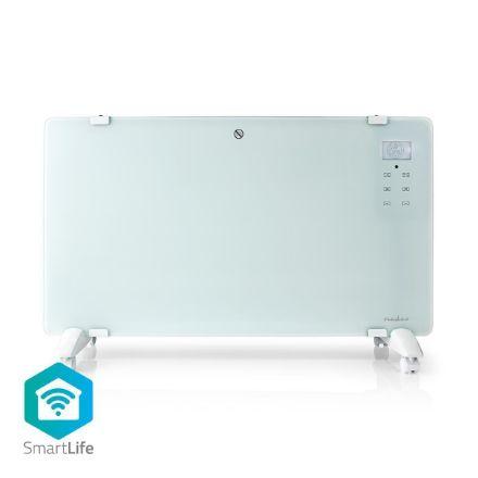 Immagine di Termoconvettore Smart Wi-Fi | Termostato | Pannello Anteriore in Vetro | 2000 W | Bianco