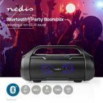 Immagine di Stereo Portatile per Feste   6 Ore di Autonomia   Bluetooth®   TWS   Luci per feste   Nero