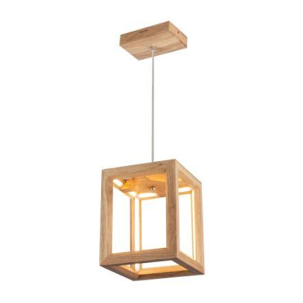 Immagine di KAGO LED SOSPENSIONE - quadrata  - illuminazione con striscia - 22x22
