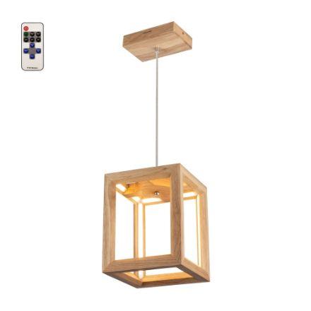 Immagine di KAGO LED SOSPENSIONE - quadrata  con telecomando - illuminazione con striscia - 22x22