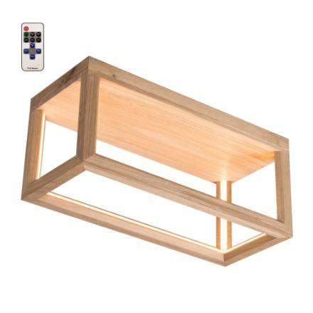 Immagine di KAGO LED A SOFFITTO - rettangolare con telecomando  - illuminazione con striscia - 50x18