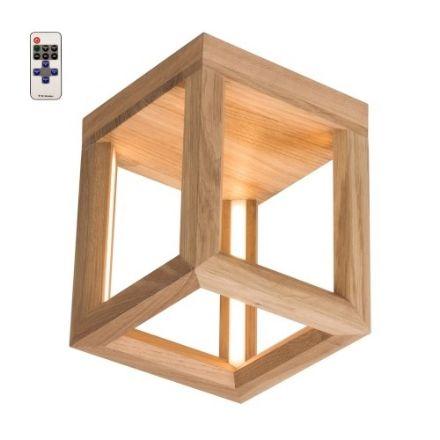 Immagine di KAGO LED A SOFFITTO -  quadrato con telecomando  - illuminazione con striscia - 18x18
