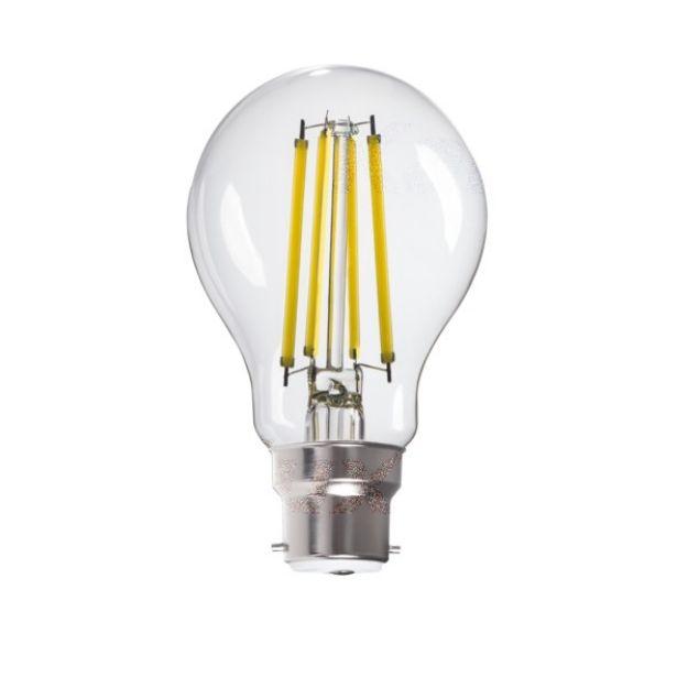 Immagine di XLED LED 10W - CW - B22 - A60 - FILAMENTO