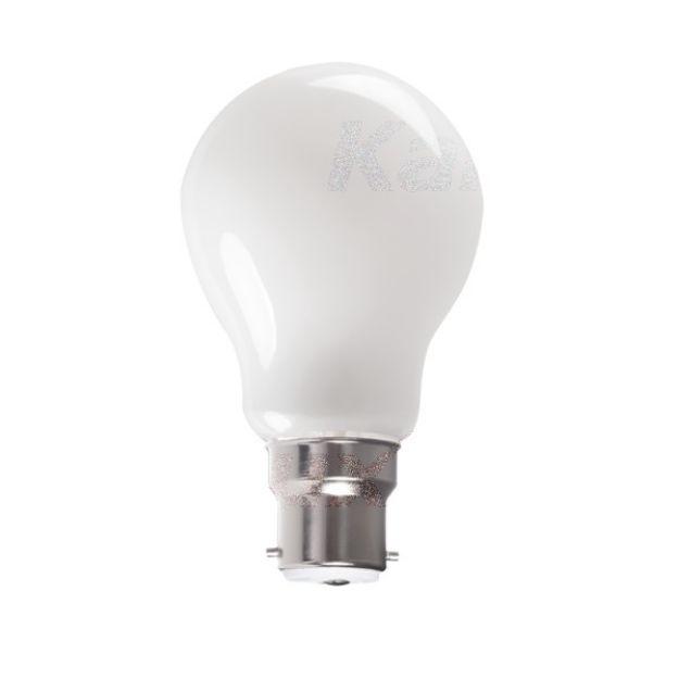 Immagine di XLED LED  - B22 - A60 - VETRO BIANCO - 7W/8W/10W