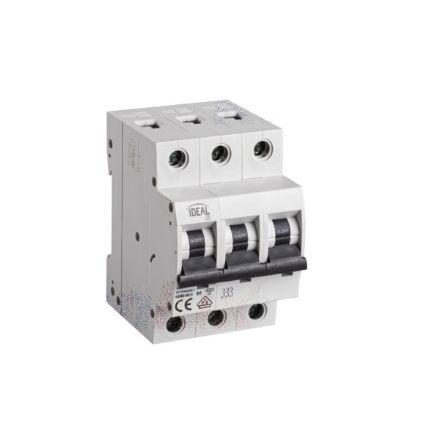Immagine di Interruttore magnetotermicodifferenziale 3P KMB6 - B/3 -  MODULI 3