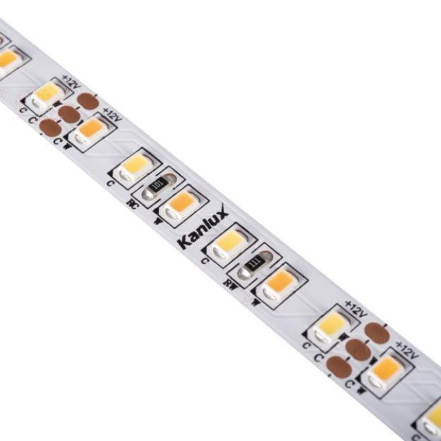 Immagine di STRISCIA LED 16W/M 12 IP20 - CCT - 12DC - 3000/6000K - 5M