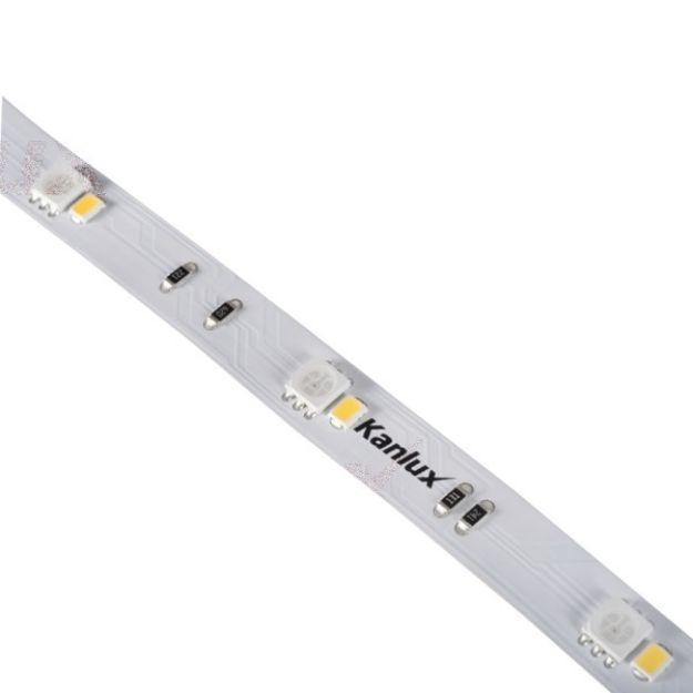 Immagine di STRISCIA LED  L48 9W/M 24DC - IP00 - RGB/4000K - 5M