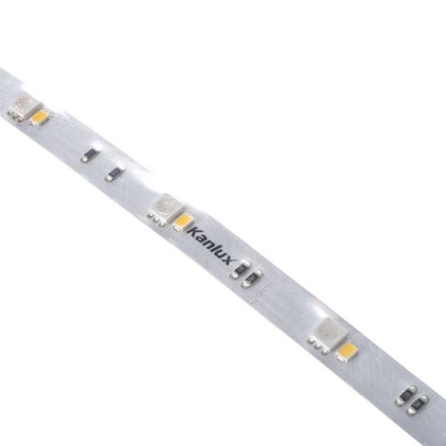 Immagine di STRISCIA LED  L48 9W/M 24DC - IP65 - RGB/4000K - 5M