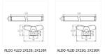 Immagine di Plafoniera lineare per tubi led T8 ALDO - IP20 - 2X