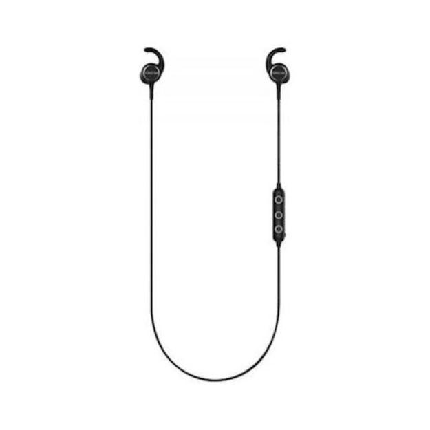 Immagine di Cuffie Bluetooth QCY M1C in-ear montate sul collo nere