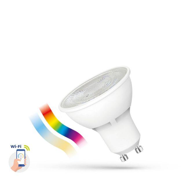 Immagine di LED GU10 5W 50° SMART - RGB - CCT - DIMMER