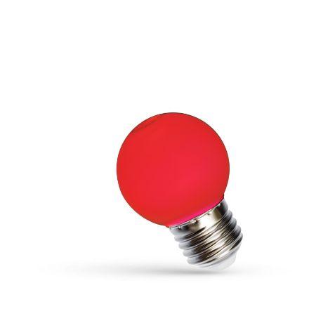Immagine di LED BALL 1W E-27 - ROSSO