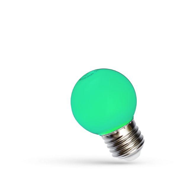 Immagine di LED BALL 1W E-27 - VERDE