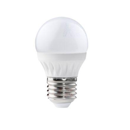 Immagine di BILO 3W/5W - T SMD E27 - WW-  LAMPADINA MINI GLOBO LED CON VETRO BIANCO