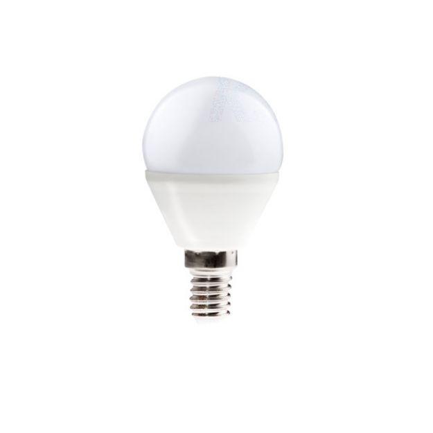 Immagine di BILO 6W - T SMD E14 - LAMPADINA MINI GLOBO LED CON VETRO BIANCO