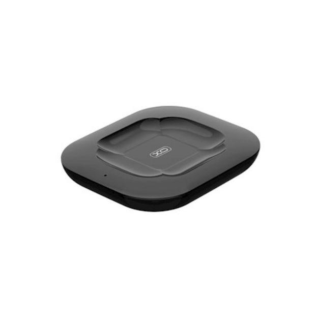Immagine di Caricabatterie wireless XO WX017 per Airpods 2 - Airpods Pro NERO - 10W (ANCHE PER TELEFONI)
