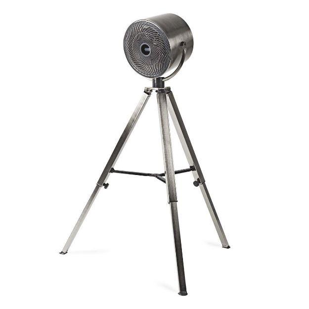 Immagine di Ventilatore a Piantana  Diametro: 250 mm | 3-Velocità | Altezza regolabile | 45 W | Flusso d'aria direzionale | Metallo