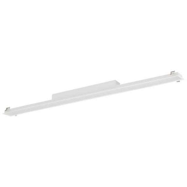 Immagine di Plafoniera led lineare ALIN LED DALI 50W 1710mm PT - BIANCO - 830/840 -MAT - 4200/4400lm - VETRINO MICROPRISMATICO -  Angolo di illuminazione [°] X75/Y90